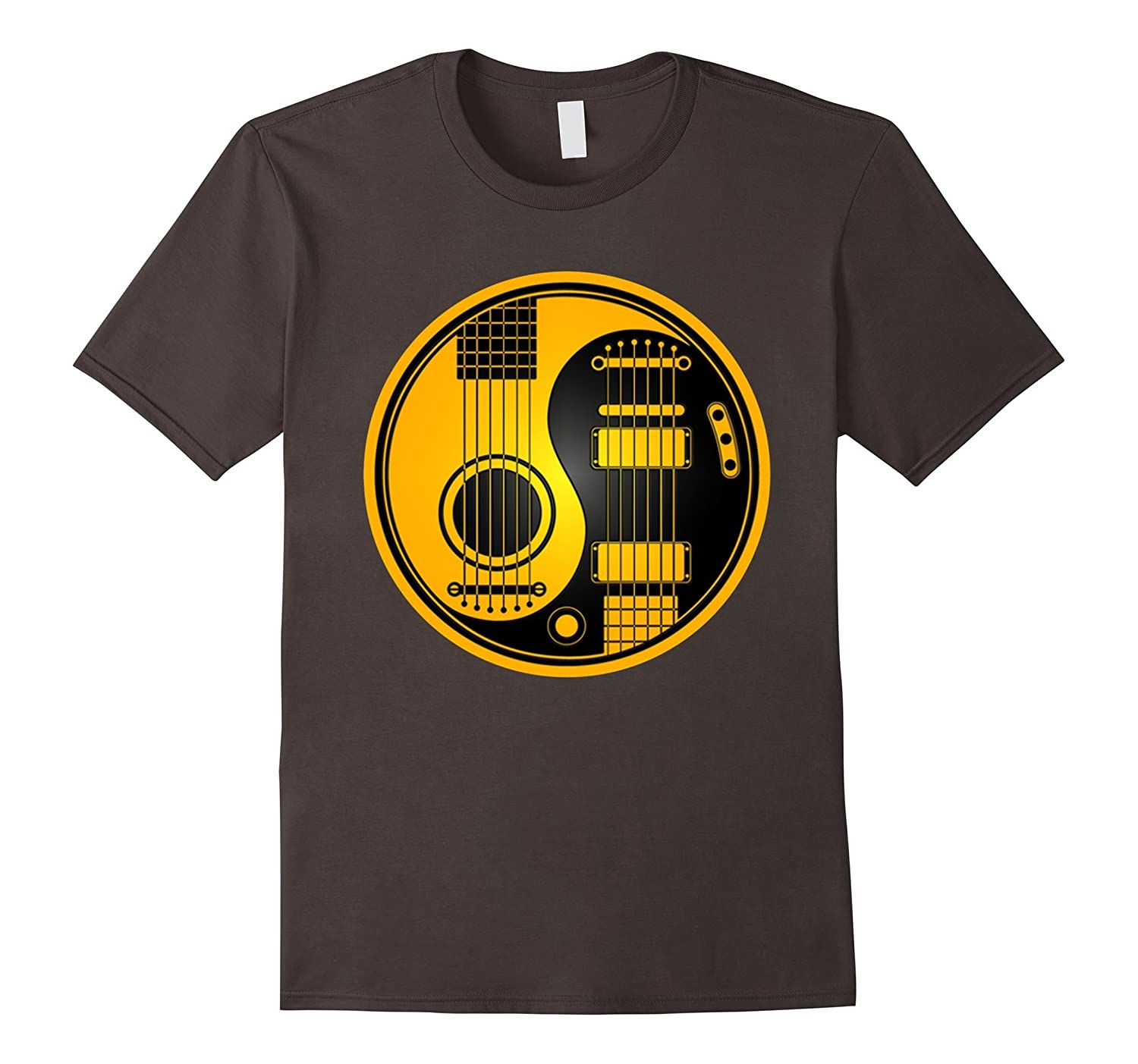 Guitar Yin Yang shirt playable for men women-CL