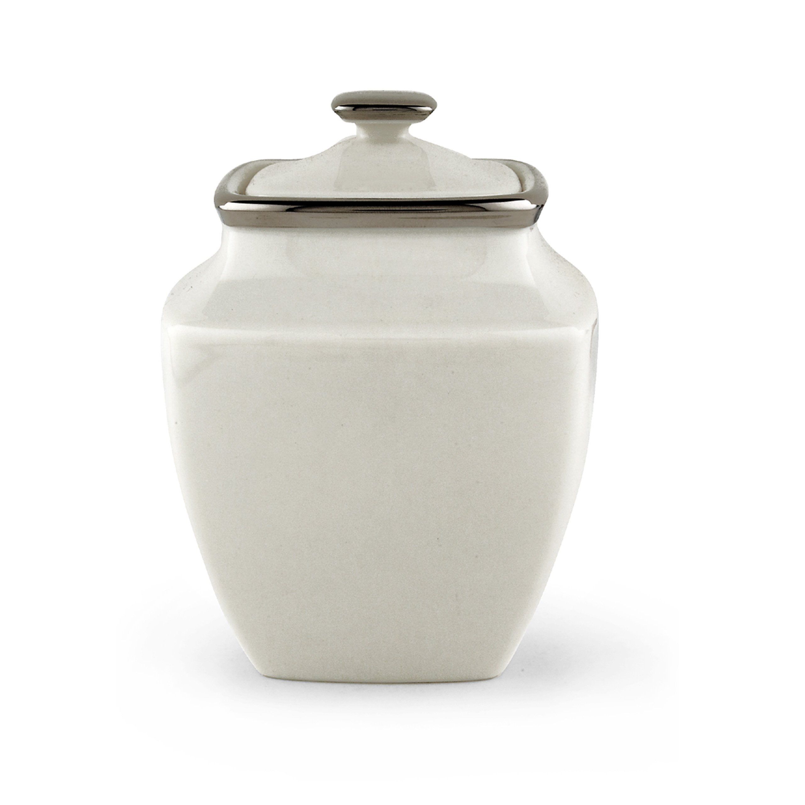 Lenox Murray Hill Platinum-banded Bone China Sugar Bowl