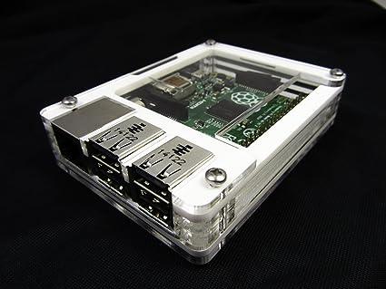 Zebra - Carcasa para Raspberry Pi 3, Pi 2, Raspberry Pi B + ...