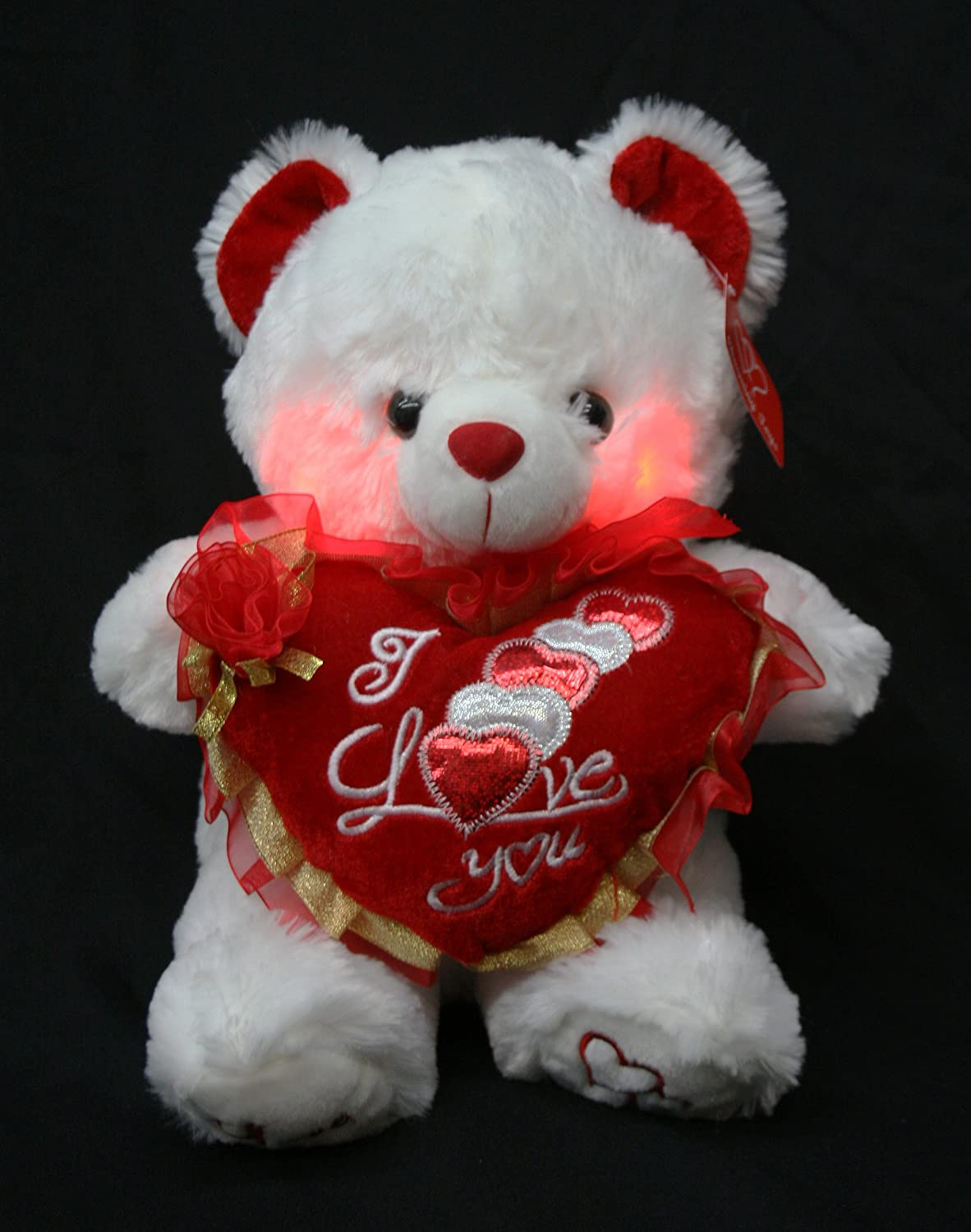 Amazon Valentines Teddy Bear 15 Says I LOVE YOU When Its Paw Is Pressed