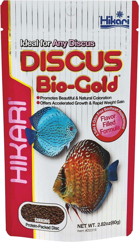 Hikari Tropical Discus Bio-Gold Fish Food, 2.82 oz (80g)
