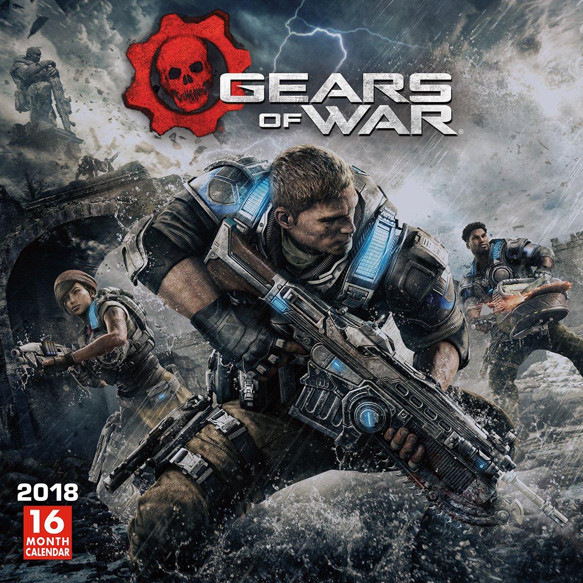 Gears Of War 2018 Wall Calendar (CA0186) pdf