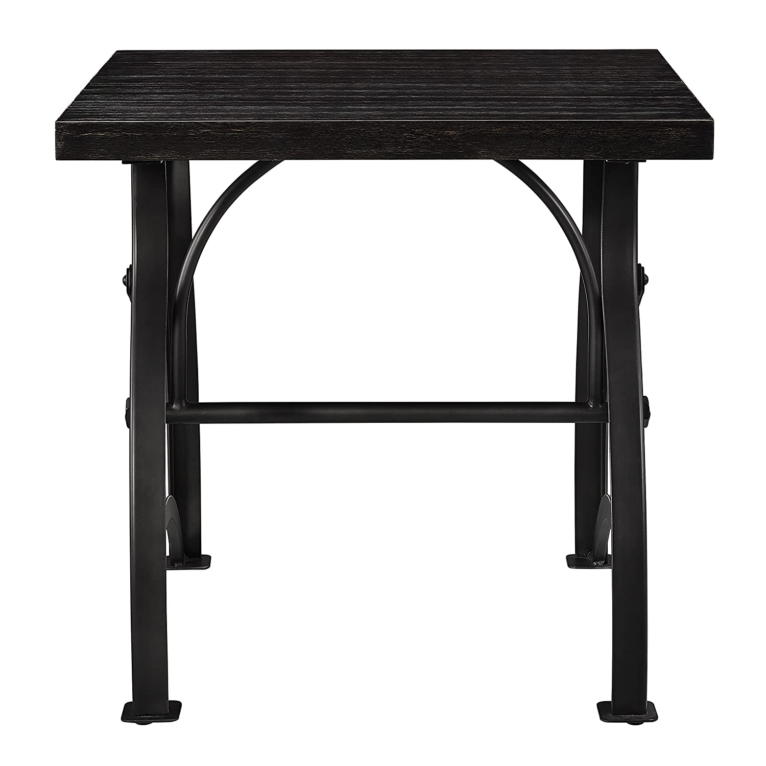 Amazon.com: Pulaski Tiburon End Table in Brown: Kitchen & Dining
