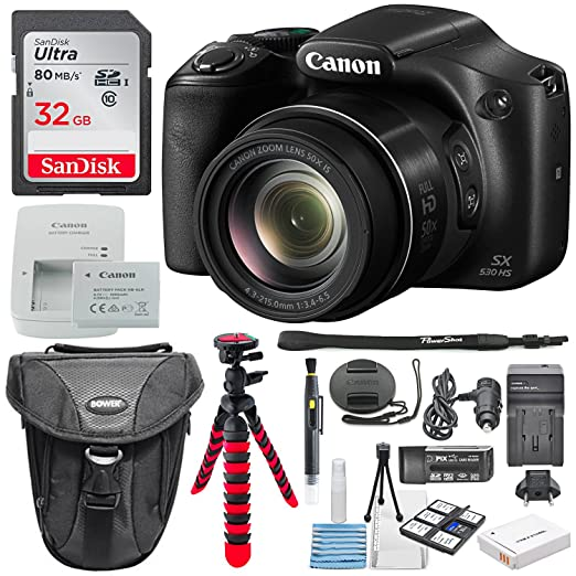 Canon PowerShot SX530 HS - Cámara digital con conexión Wi-Fi ...