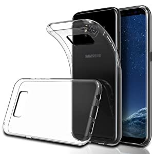 Coque Samsung Galaxy S8, Simpeak TPU coque pour Samsung Galaxy S8 transparent, anti-glissant,résistant aux rayures,1 paquet