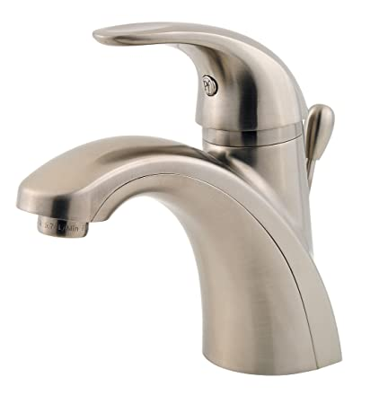 Attrayant Pfister Parisa Single Control 4u0026quot; Centerset Bathroom Faucet, Brushed  Nickel