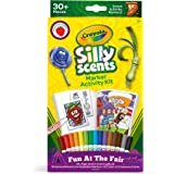 Crayola Silly Scents Coloring Book & Scented Markers, Fair Coloring Pages, Gift