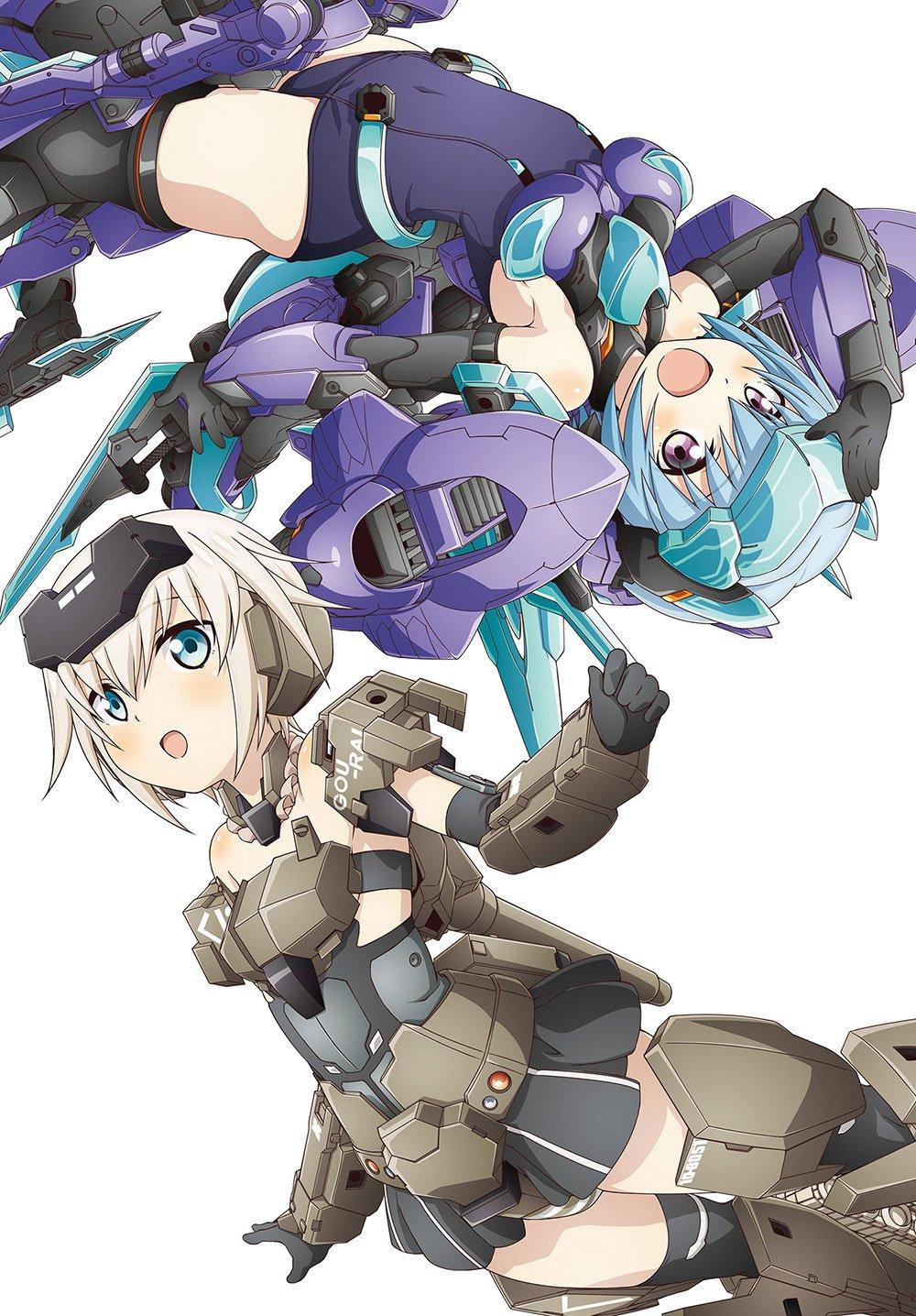ANIME FRAME ARMS GIRL DRAMA CD MK-3 - Anime Frame Arms Girl ...