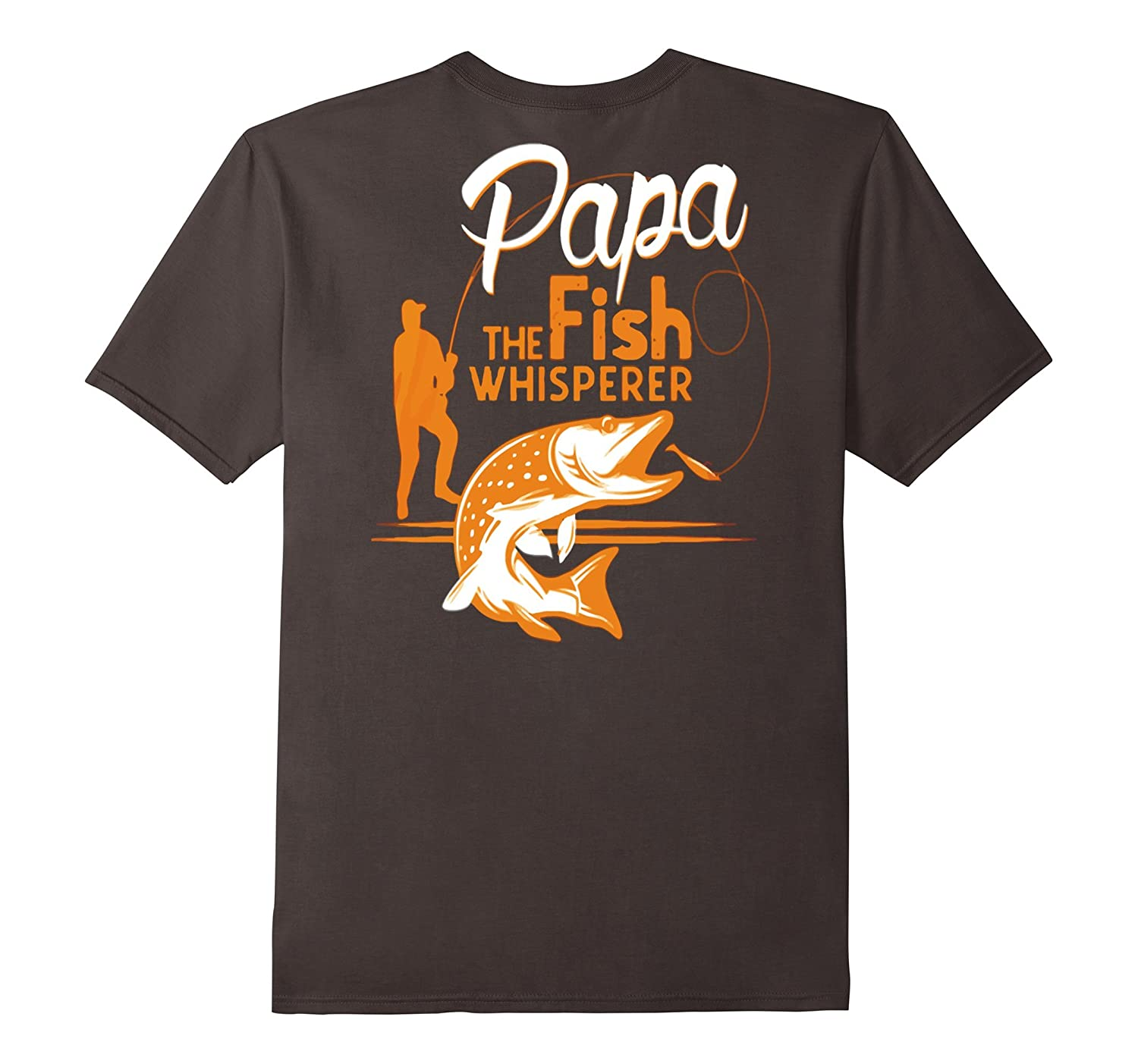papa the fish whisperer t shirt goatstee. Black Bedroom Furniture Sets. Home Design Ideas