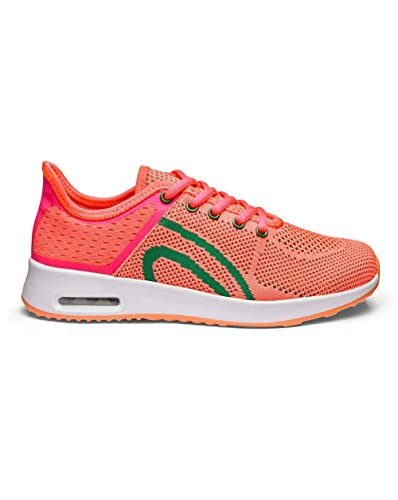 Air Bubble Trainers Coral