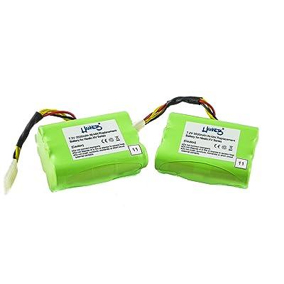 2 batteries avec 3500 mAh pour modèle neato XV - 12 de Hannets®
