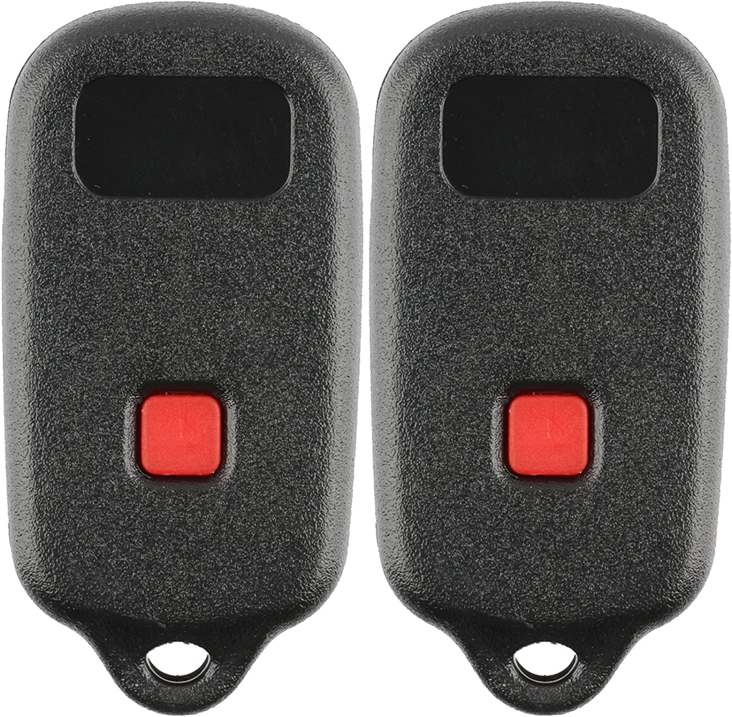 Discount Keyless Replacement Shell Case and Button Pad Compatible with Toyota 4Runner Sequoia HYQ12BBX HYQ12BAN HYQ1512Y