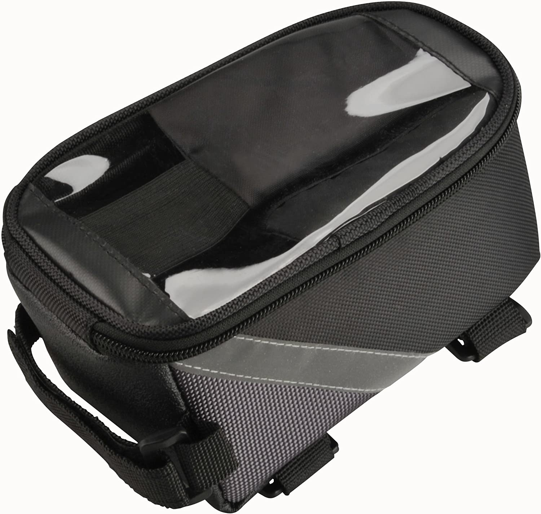 fischer Unisex/_Adult Oberrohrtasche Top Tube Bag Black standard size