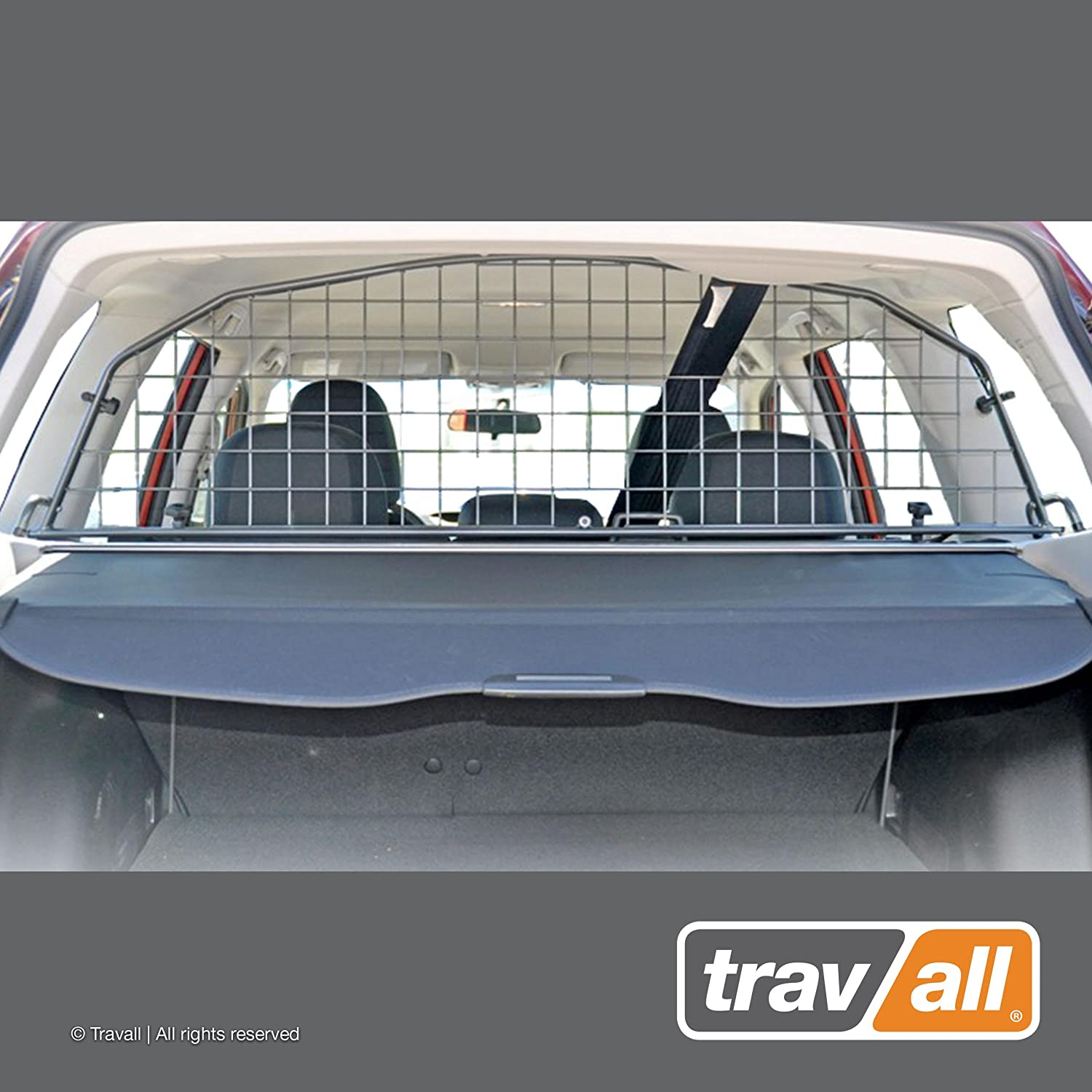 Travall Guard Compatible with Subaru Forester Without Sunroof 2008-2012 TDG1181 – Rattle-Free Steel Pet Barrier