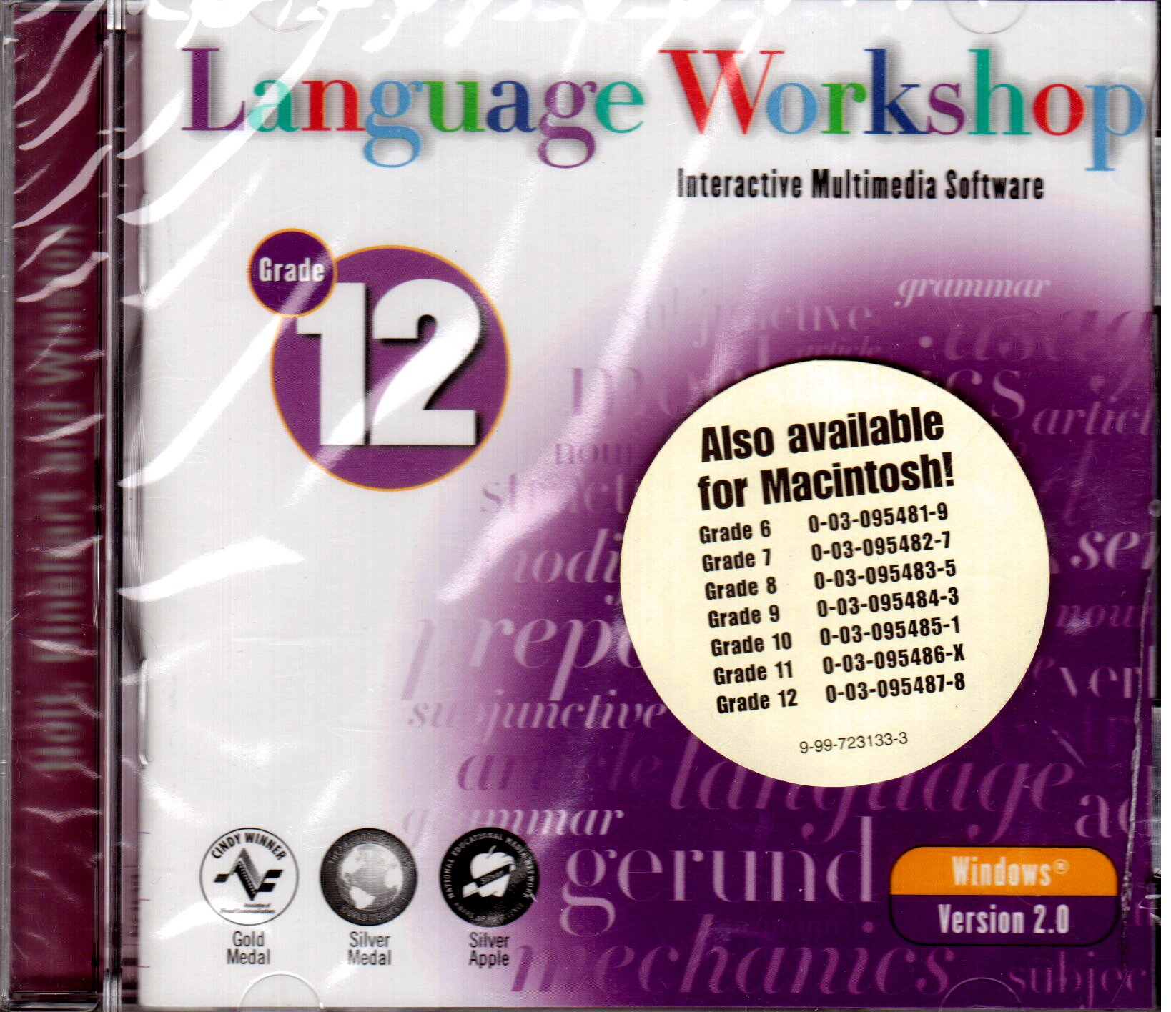 Download Language Workshop, Grade 12: Interactive Multimedia Software (Windows version) ebook