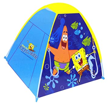 SpongeBob Squarepants Igloo Shelter Tent 120 x 120 x 85cm  sc 1 st  Amazon UK : spongebob play tent - memphite.com