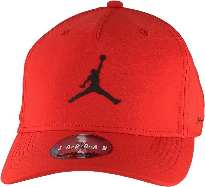Nike Jordan Jumpman Clc99 Woven Gorra de Tenis, Hombre, Rojo ...