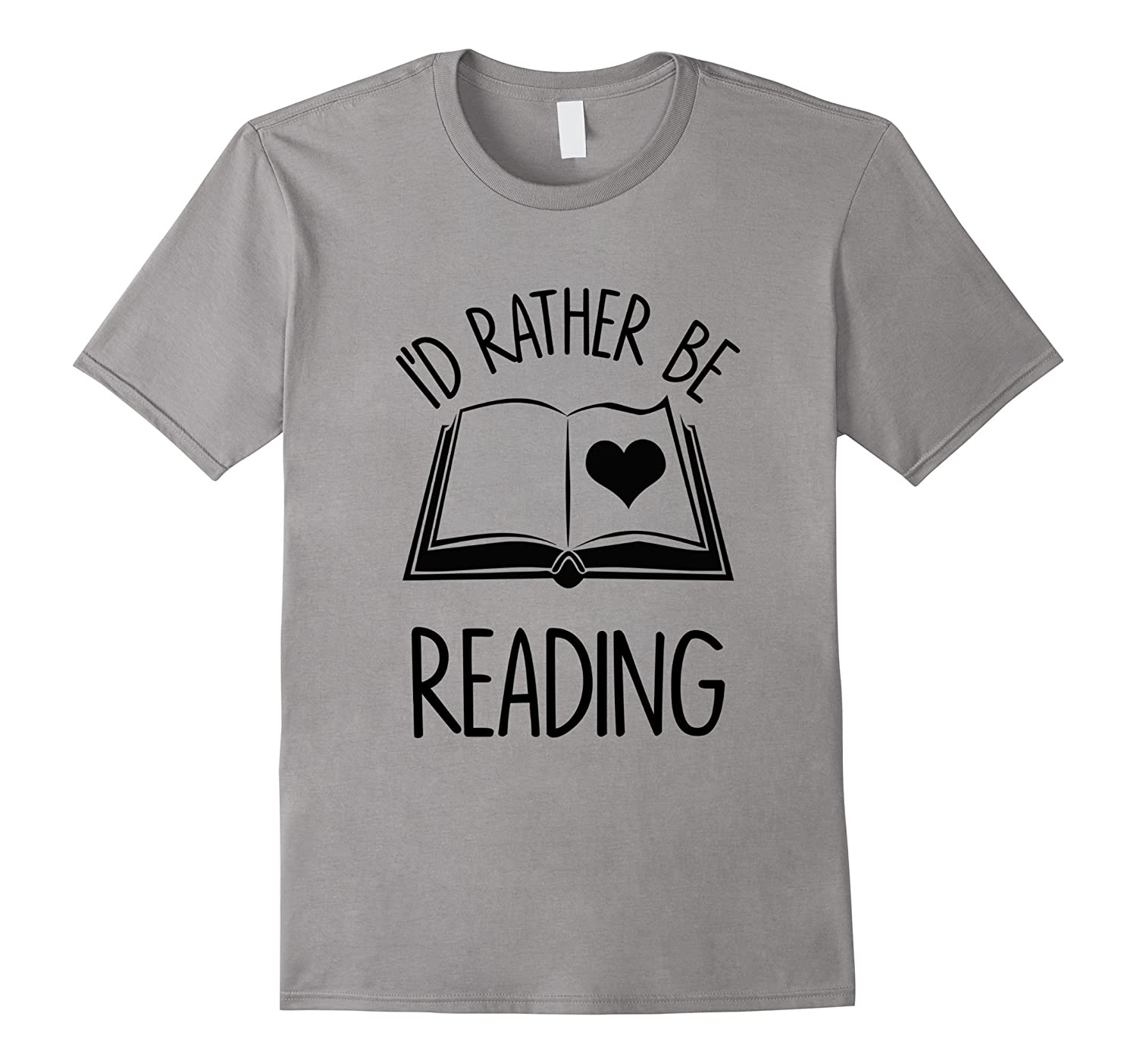Id Rather Be Reading T-Shirt Funny Reading-TD