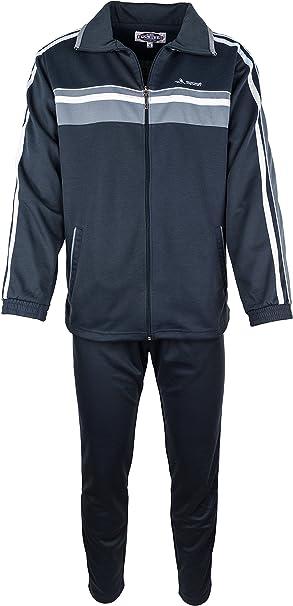 Paris Herren Baumwolle Jogginganzug, Trainingsanzug, Sportanzug, Freizeitanzug, Hausanzug Gr. M bis 3 XL (8 Farben)