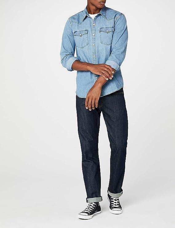 Levis L/S Barstow Western Shirt Camisa Casual para Hombre: Amazon.es: Ropa y accesorios
