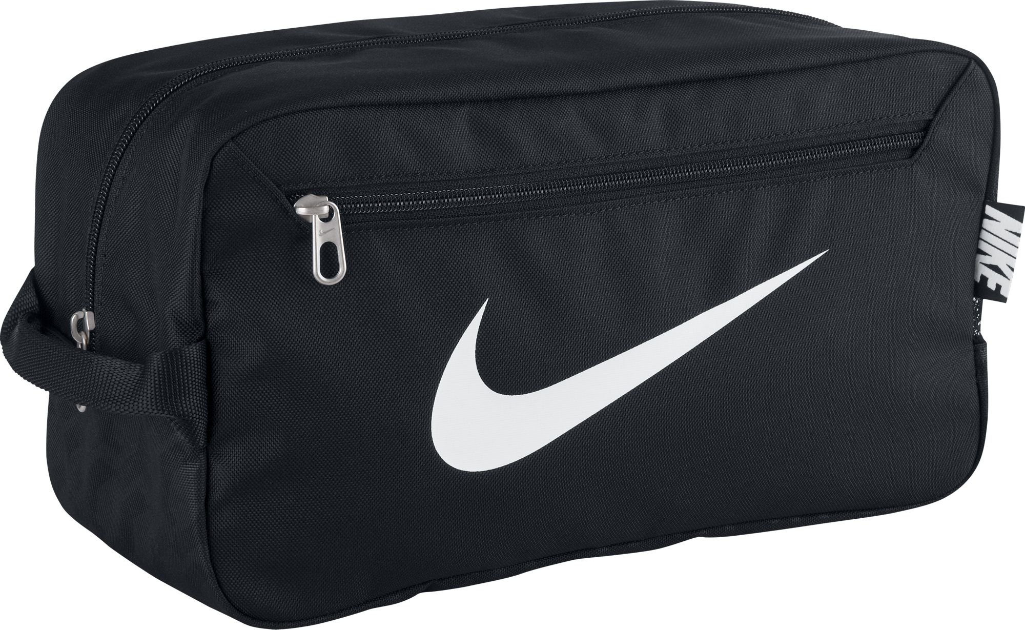 NIKE Men'S Brasilia 6 Shoe Bag - Black/Black/White, One Size