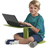 ECR4Kids - ELR-15810-GN The Surf Portable Lap Desk, Flexible Seating for Homeschool and Classrooms, One-Piece Writing…