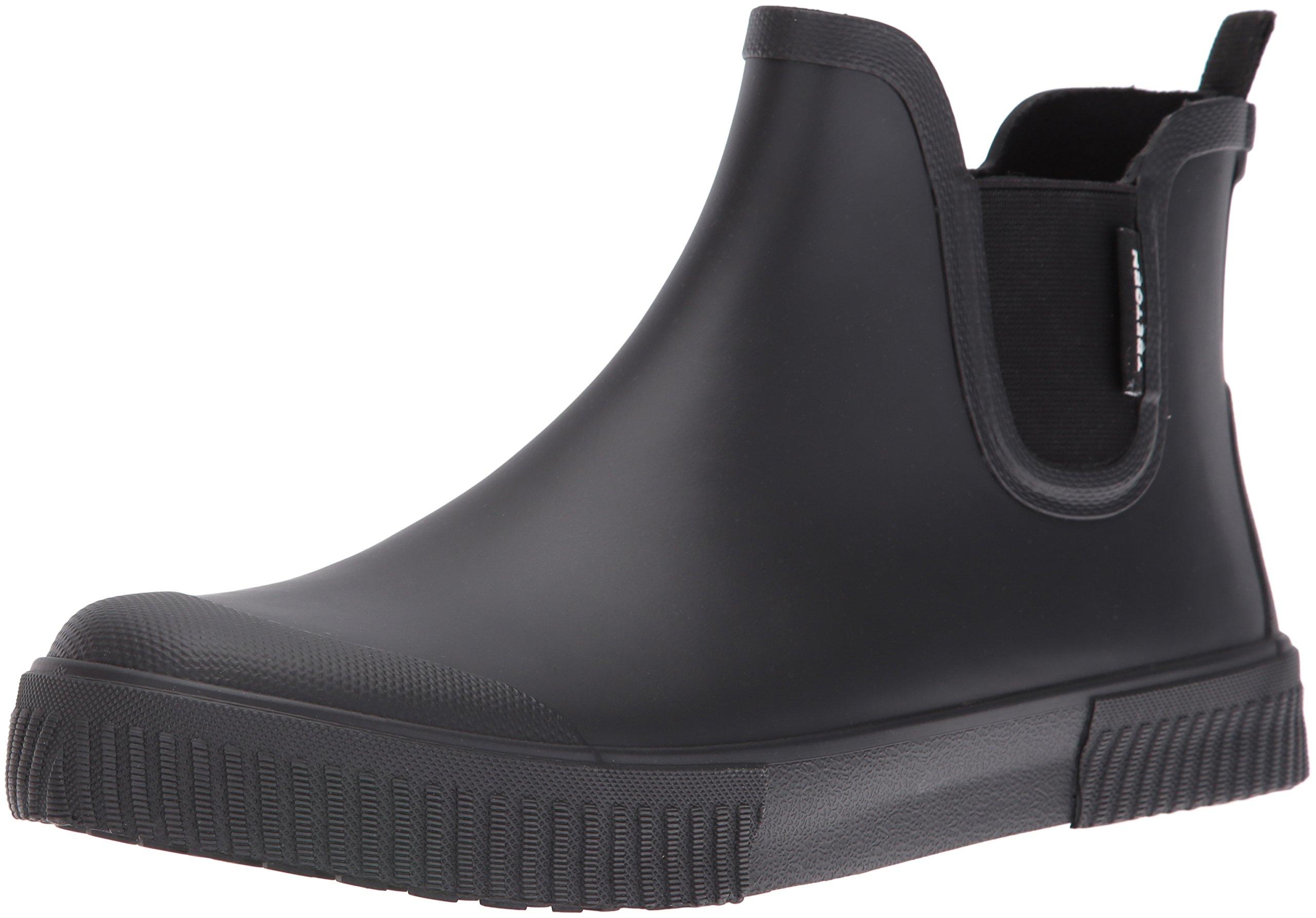 Tretorn Men's Gus Rain Boot, Black/Black/Black, 8 M US