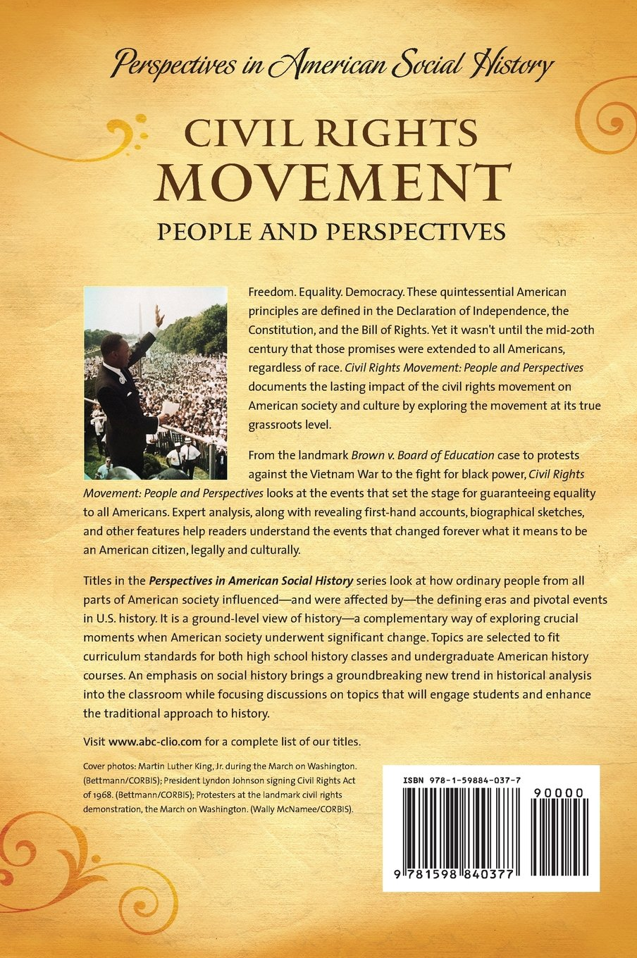 civil rights movement people and perspectives perspectives in civil rights movement people and perspectives perspectives in american social history series amazon co uk michael ezra books