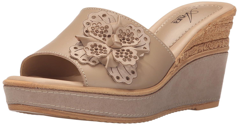 Azura by Spring Step Women's Montanara Wedge Sandal B015RAFAT8 41 EU/9.5-10 M US|Beige