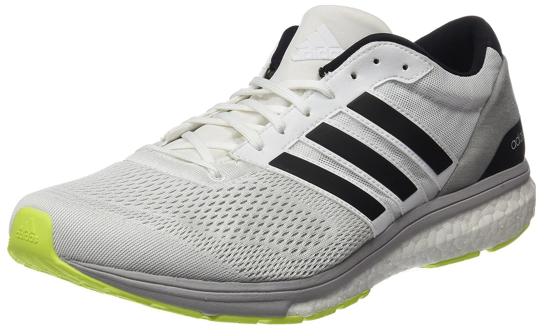 Adidas Adizero Boston 6 M, Zapatillas de Running para Hombre 42 EU|Blanco (Ftwbla / Plamet / Amasol)
