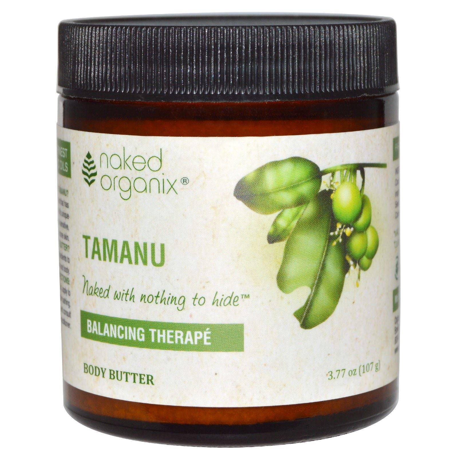 Naked Organix-Tamanu Body Butter Organix South 4 oz Cream