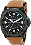 """Citizen Men's BJ6475-00E """"Drive from Citizen"""" Stainless Steel Watch with Beige Leather Band"""