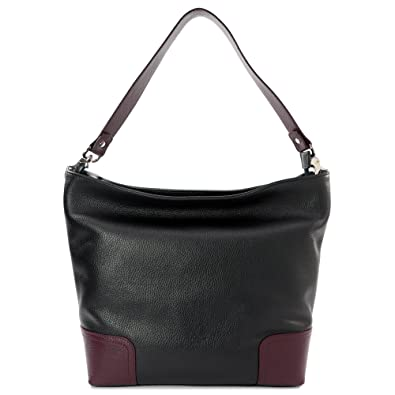 877b07298c Sabrina - Women s Handbag Genuine Leather - Shoulder Bag 100% Made ...