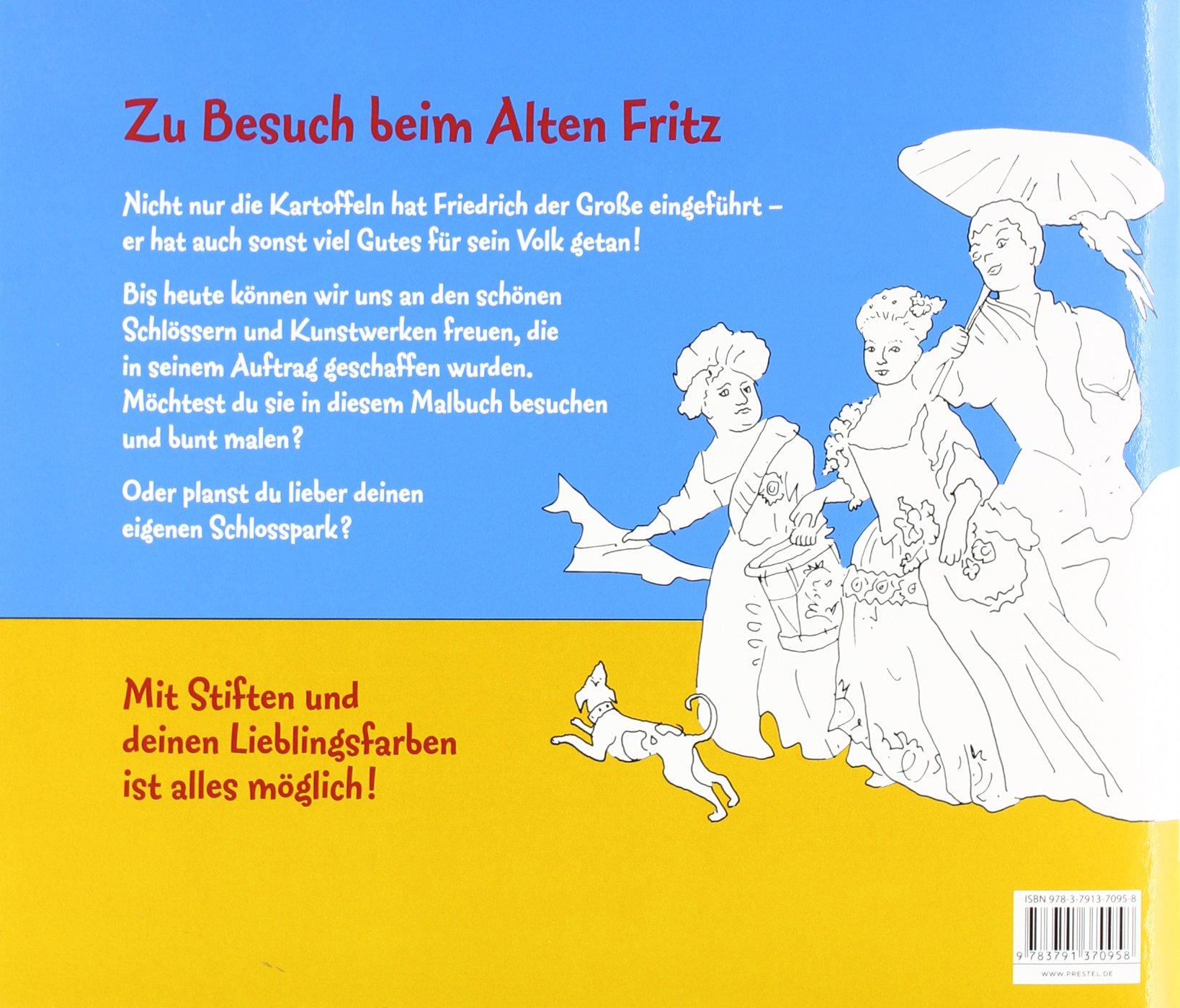 Kunst-Malbuch Friedrich der Große: Amazon.de: Annette Roeder: Bücher