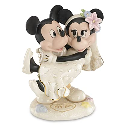 19a05a54ade6 Image Unavailable. Image not available for. Color  Lenox Classics Disney s  Minnie s Dream Beach Wedding Figurine