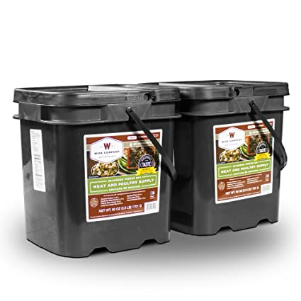Wise Foods Survival Supplies Emergency Storage Travel Food Ration Pouch 120 Serving Protein All Meat Long  sc 1 st  Amazon.com & Amazon.com: Wise Foods Survival Supplies Emergency Storage Travel ...