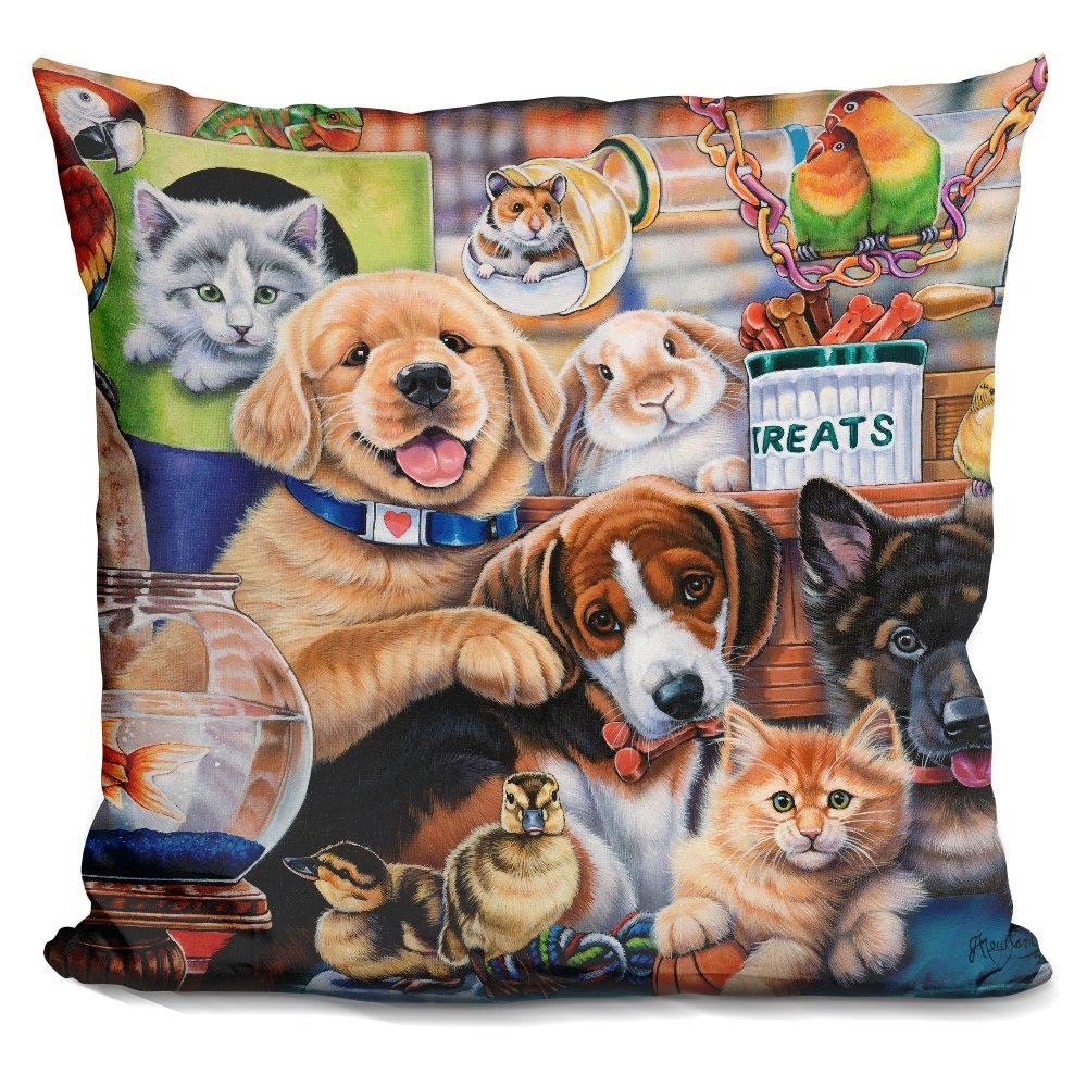 LiLiPi Pet Shop Decorative Accent Throw Pillow