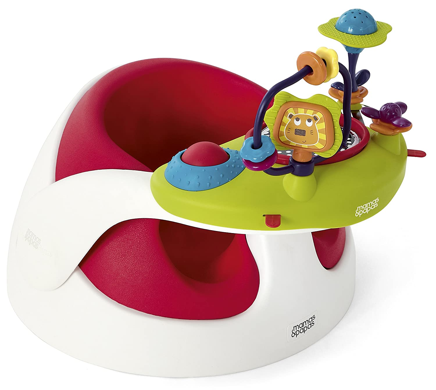 Mamas & Papas Baby Snug and Activity Tray (Red)   B00B0K3A9W