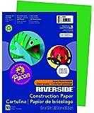 "Riverside 3D Construction Paper, Green, 9"" x 12"", 50 Sheets"