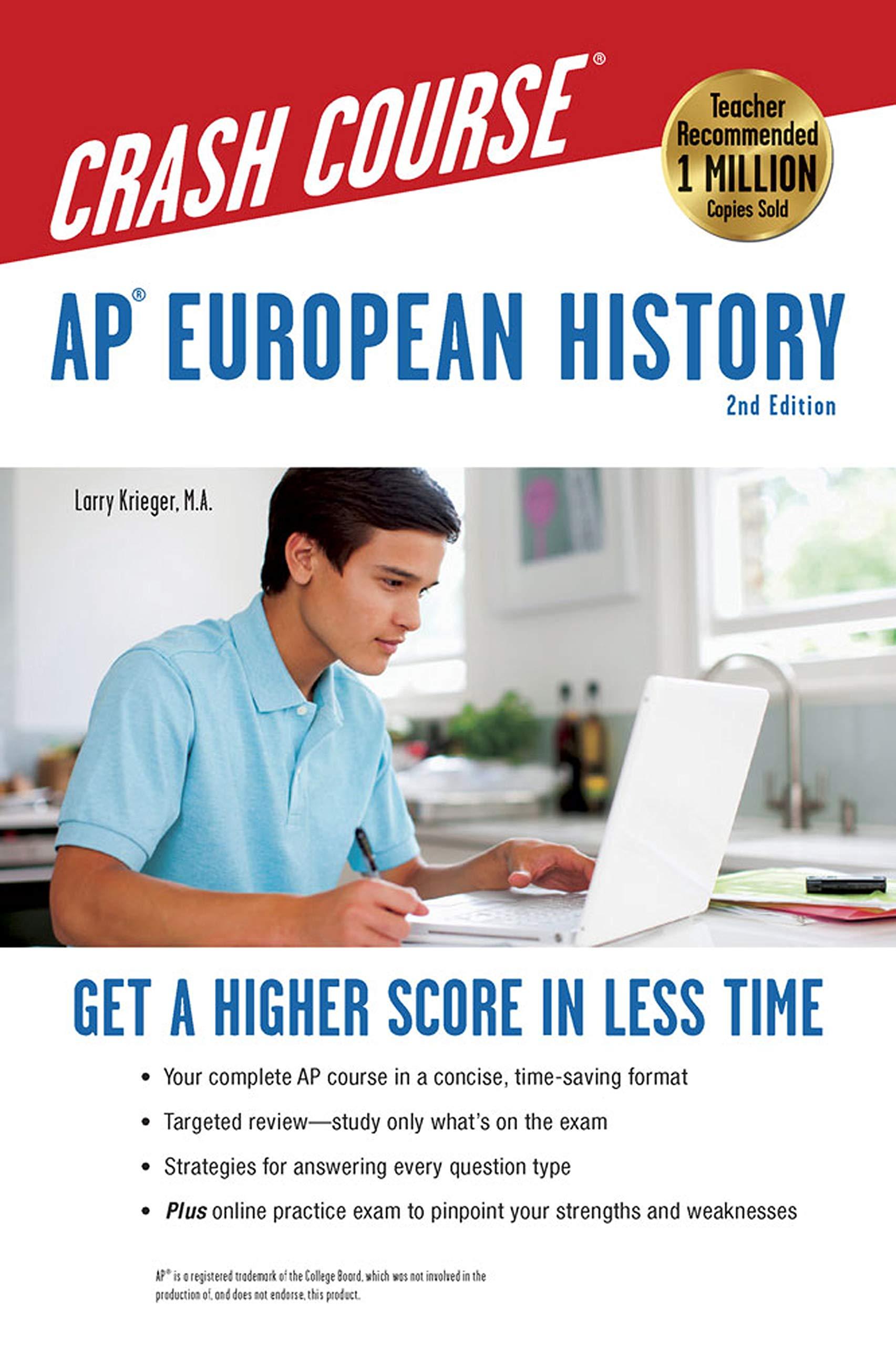 AP® European History Crash Course, 2nd Ed , Book + Online