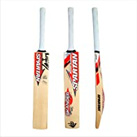 Spartan, Cricket, Sikander Grade 1 English Willow Cricket Bat, Orange, Short Handle