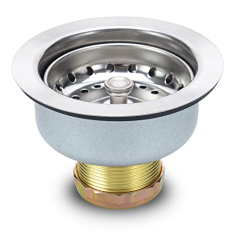 Kitchen Sink Strainer Stopper - Stainless Steel Spring Clip Kitchen on toilet drain, wig hair catcher drain, true close suction drain, kitchen drain leaks, bathtub drain, plumbing drain, kitchen drain assembly, chemical drain clog main drain, kitchen bathroom, kitchen bath drain, kitchen plumbing, kitchen sinks black finish, kitchen faucet, kitchen drain parts, kitchen bench drain, kitchen clean out drain, bathroom drain, shower drain, urinal drain,