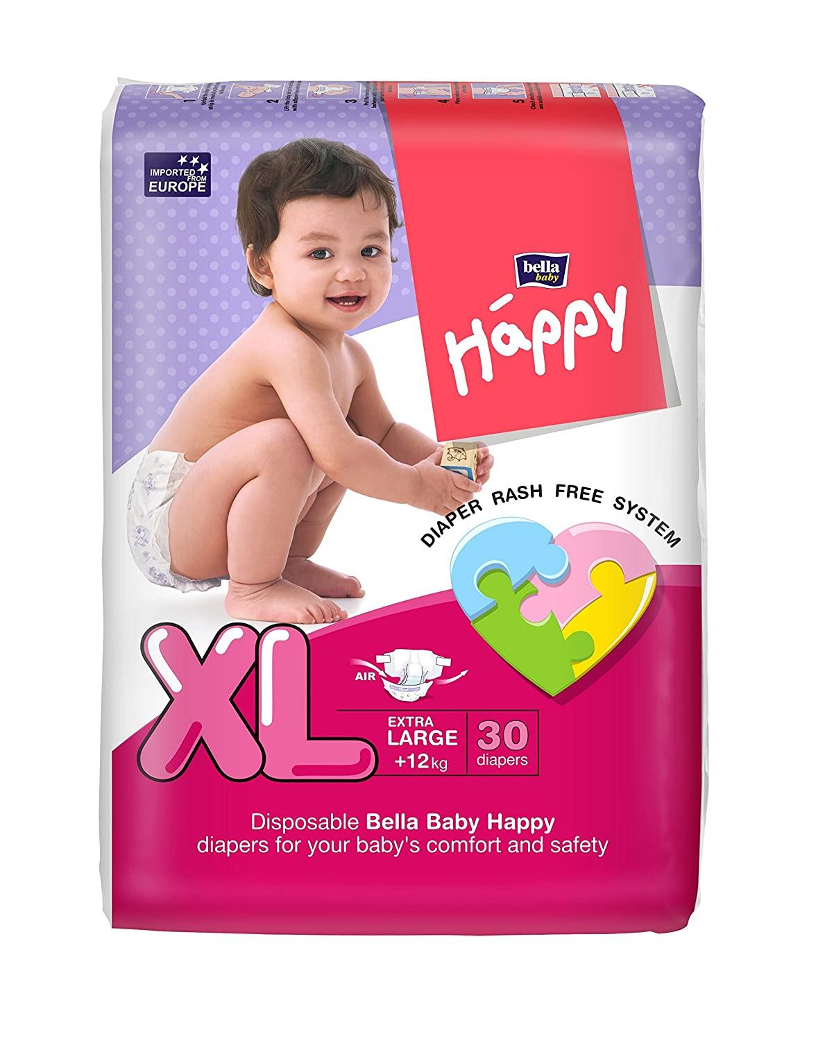 Buy Bella Baby Happy Extra Large Diapers 30 Pieces Online At Low Mamypoko Pants Soft Xl Girls Prices In India
