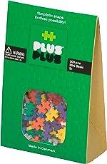 PLUS PLUS - Construction Building Toy, Open Play Set - 300 Piece - Basic Color Mix