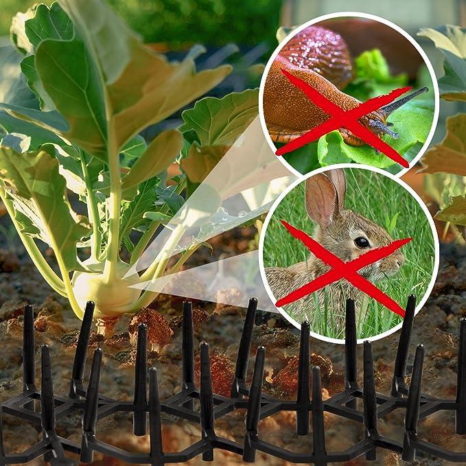 Gardigo Pinchos Antipalomas, gatos y perros | Espantapajaros | Disuasión Repelente para aves de plástico | Lote de 6: Amazon.es: Electrónica