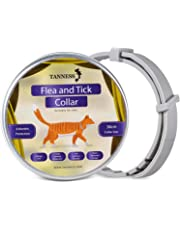 """Tanness Flea and Tick Collar for Medium and Small Dogs 15"""" Hypoallergenic and Waterproof Tick Prevention and Flea Control Dog Collar for 8 Months of Protection"""