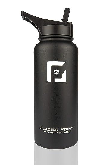 Amazon.com: Glacier Point Botella de agua de acero ...