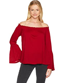 72827990e3 cupcakes and cashmere Women s Ally Embroidered Lace Cold Shoulder ...
