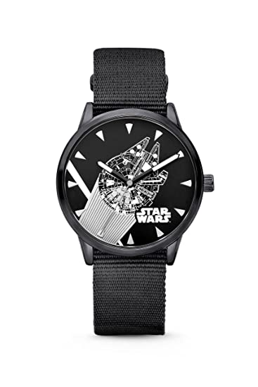 RELOJ STAR WARS HALCON MILENARIO - ROGUE ONE, HALCÓN MILENARIO, RODANIA, STAR WARS: Rodania: Amazon.es: Relojes