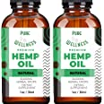 Hemp Oil Extract 30,000MG (2-Pack) – Powerful Fast Relief – Pure Hemp Oil - Anxiety Sleep Mood Stress Pain – Omega 3-6-9 Oils